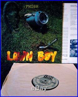 PHISH LAWN BOY LP Rare Original Vinyl On ABSOLUTE A GO GO Records VG+