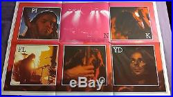 PINK FLOYD Dark Side Of The Moon UK 1st Press Solid Blue Triangle COMPLETE EX
