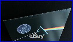 PINK FLOYD Dark Side Of The Moon UK 1st Pressing Solid Blue Triangle MINT LP