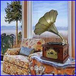PTCDCS32BT Classic Bluetooth Turntable Record Player, Vinyl-To-MP3 Recording