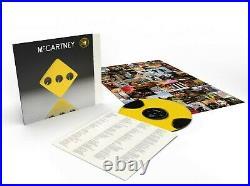 Paul McCartney McCartney III (333 Edition) Third Man Records Yellow Dot Vinyl