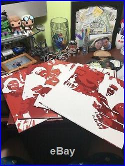 Pearl Jam Benaroya Hall Red-Wine Colored Vinyl Box Set, #1717 of 2000