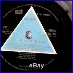 Pink Floyd The Dark Side of the Moon 1st UK Issue 1973 SHVL 804