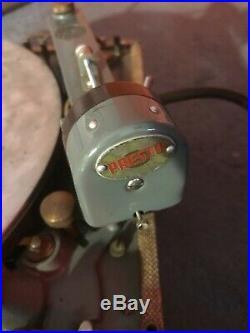 Presto K7 K-7 (K8 K-8) record cutting lathe, vinyl recorder