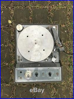 Presto K8 K-8 record cutting lathe, vinyl recorder