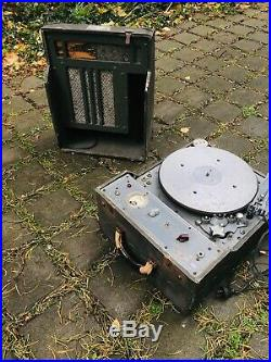 Presto K8 K-8 record cutting lathe, vinyl recorder 12 10 7
