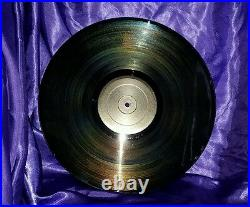 Prince Black Album Erotic City Records NOIR-69 LP 1988 Bonus Included