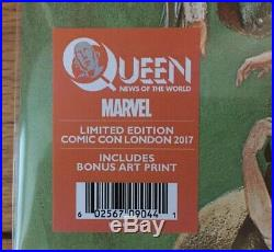 Queen News of the World Vinyl Exclusive Comic Con Ltd Edition #174 Of #220