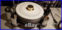 RARE! Audiophile Premium Turntable 65 pound Tonearm LP Phono Vinyl Record Player