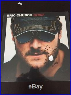 RARE Eric Church COMPLETE Studio Vinyl Record Collection signed and numbered