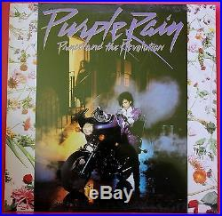 RARE Sealed 1984 Original Prince Purple Rain Vinyl Record Album