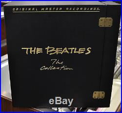 RARE The Beatles The Collection 1982 MINT Vinyl LP's Boxed Set VERY NICE