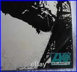 RARE original Led Zeppelin I Turquoise lettering Atlantic plum/red label vinyl