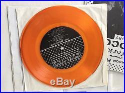 REVELATION RECORDS 1987 NYHC TOGETHER comp. ORANGE vinyl 1st press with booklet