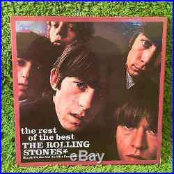 ROLLING STONES STORY REST OF THE BEST VERY RARE + COCKSUCKER BLUES 7 45 rpm