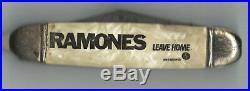 Ramones Leave Home switchblade pen knife letter opener 1977 from PUNK Magazine