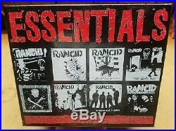 Rancid essentials LP box set new white with red splatter vinyl records