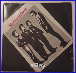 Rare 7 45 1977 SKREWDRIVER ANTI-SOCIAL NS 18 Oi Punk Chiswick orig