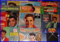 Rare Complete Collection of Elvis Presley Albums LP Set Records