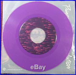 Rare Prince Purple Rain Purple vinyl 45 rpm Record & Custom Sleeve