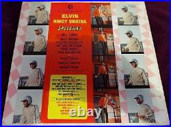 Rarest Original Mono Soundtrack Elvis Presley Speedway Lp Rca Lpm-3989