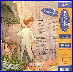 Ratatouille Soundtrack Color Vinyl LP Vinyl Record Album Sealed Mondo Disney