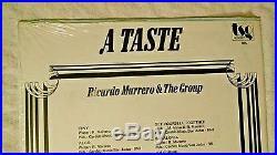 Ricardo Marrero & the Group SEALED LP A Taste SUPER-RARE LATIN JAZZ FUNK TSG And