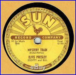 Rock'n Roll 78 Elvis Presley On Sun 223 Mystery Train