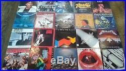 Rock'n' Roll Vinyl Records Lot 145+ Records