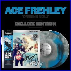 Rockologists Ace Frehley Origins Vol. 1 SIGNED DELUXE EDITION Colored Vinyl LP