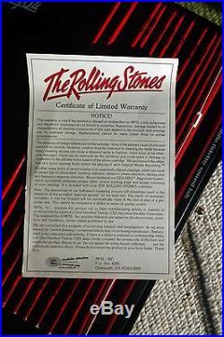 Rolling Stones Mobile Fidelity ORIGINAL MASTERS Boxed Collection Vinyl LP's XLNT