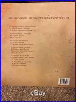 SAMURAI CHAMPLOO WAY OF THE SAMURAI VINYL COLLECTION Nujabes 2007 Limited LP VG