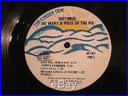 SEPTIMUS Piece of the Pie 1982 Private Vinyl 12'' Lp. / R&B Soul Disco Dance