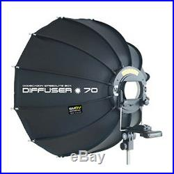 SMDV SPEED-BOX 70 28 Dodecagon Soft-box Diffuser f S-Light S-Lite Quantum Flash