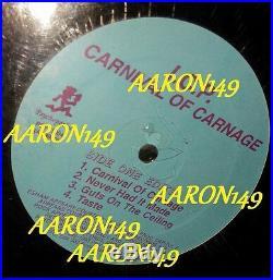 Sealed ICP Carnival of Carnage vinyl lp record icp twiztid insane clown posse