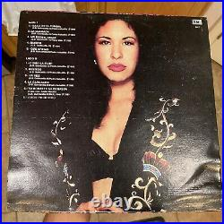 Selena Quintanilla Como La Flor Vinyl Record Rare Baila Esta Cumbia Vintage 1994