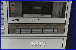 Sharp VZ-3000 All-in-One HiFi Vertical Record/Vinyl/LP BoomBox Stereo Retro 80's