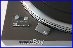Sony PS-X6 Direct Drive Turntable Vintage Plattenspieler Record Player Vinyl Des
