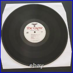 Soundtrack The Crow Double LP 140g Black Vinyl New Sealed
