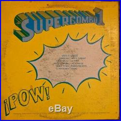 Supercombo1 super Combo Uno faces/2 original RARE salsa Latin guaguanco vinyl