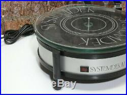 Systemdek II Vintage Record Vinyl Deck Player Turntable + Perspex Cover
