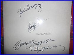 THE BEATLES / WHITE ALBUM / LP VINYL