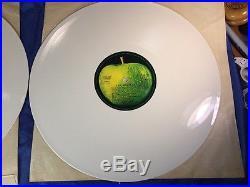 THE BEATLES-White Album 1985 GermanyExport White Vinyl LP/Apple Records/EMI