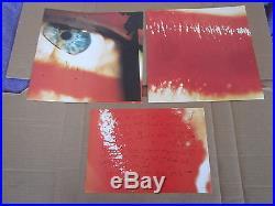 THE CURE Kiss Me Kiss Me Kiss Me ORIGINAL PROMO SET 2x LP & ORANGE VINYL & 2x EP