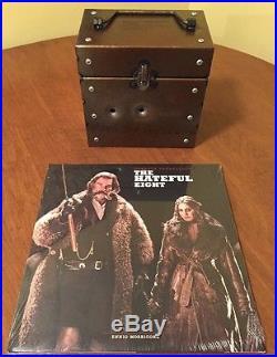 THE HATEFUL EIGHT 7 Vinyl Record Boxset Score Ennio Morricone Third Man Records