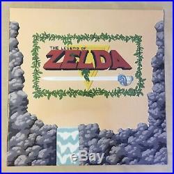 THE LEGEND OF ZELDA Limited GOLD COLOR Vinyl Lp Record NES Nintendo NEW SEALED