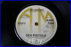The Original Sex Pistols A&m God Save The Queen Near Mint 7 Single The One