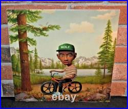 TYLER THE CREATOR Wolf, Limited 2LP PINK COLORED VINYL + CD Gatefold NEW