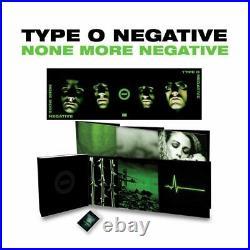 TYPE O NEGATIVE None More Negative Vinyl Record Box Set SEALED Colored Album
