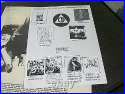 Tales of Terror 1984 C. D. Presents LP skate Punk fang code of honor withinsrt RARE